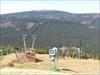 Blick vom Wurmberg auf den Brocken.