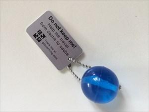 La balle bleue