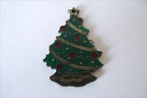 Christmas Tree Geocoin 1