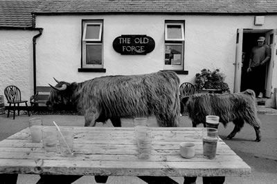 The Old Forge, our target for lunch