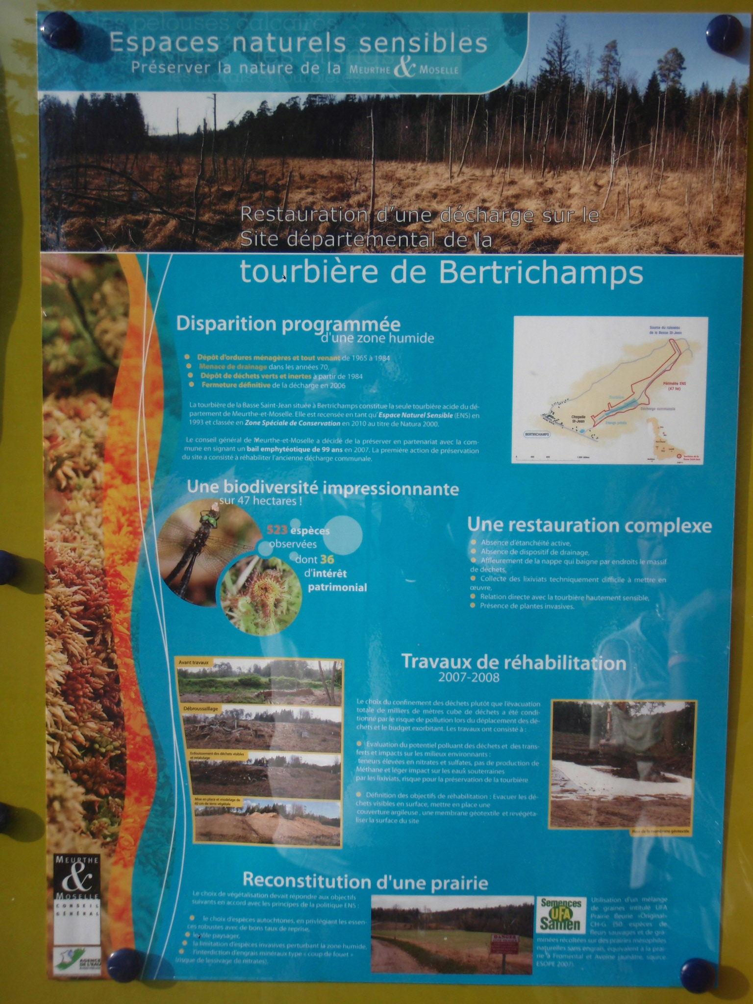 Tourbière de Bertrichamps