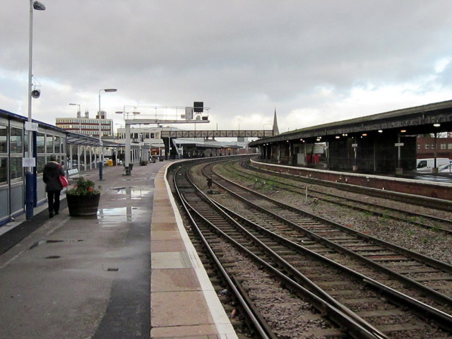 Gloucester Station (Photo by Roy Hughes)
