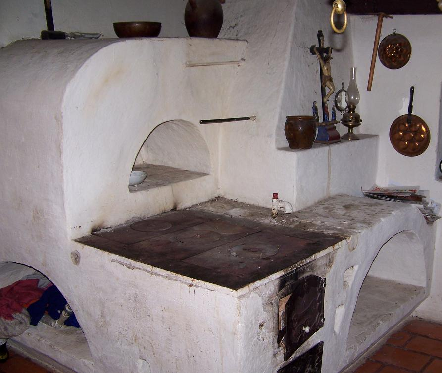 pôvodna kuchynska pec
