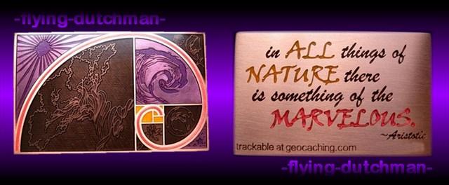 Marvelous Nature Geocoin