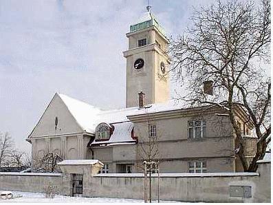 Kostel - aktuální pohled