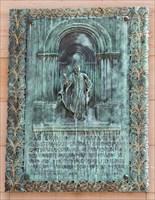 Tafel am Dom zu Speyer