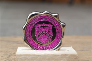 SSoCA Geocoin  The Pink Precious