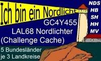 LAL68 Nordlichter gold