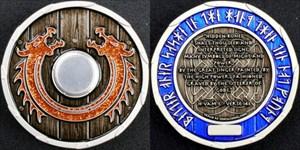 "Viking Dragon Shield - ""Valhalla"""