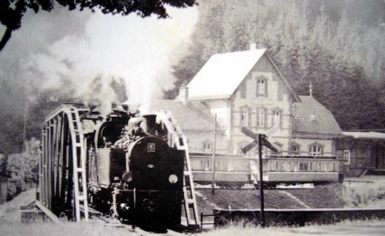 Ehemaliger Bahnhof Steinhelle