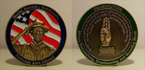 Hoxie Scout Geocoin