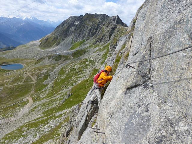 Klettersteig Eggishorn : Geocaching log by emmenstein for klettersteig via ferrata am