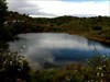Ondas na lagoa