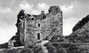 Hrad po částečné rekonstrukci za I. sv. války