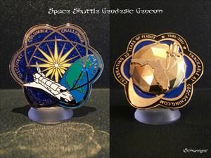 Space Shuttle Geodesic Geocoin