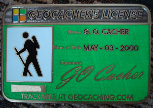 Caesar1987's Geocacher's License