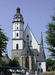 Thomaskirche, Ostseite