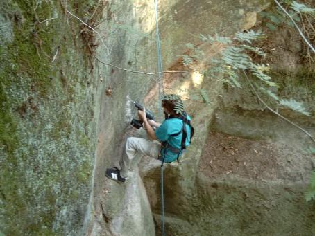Kletterausrüstung Geocaching : Gckgyk bohrn to be wild traditional cache in bayern germany
