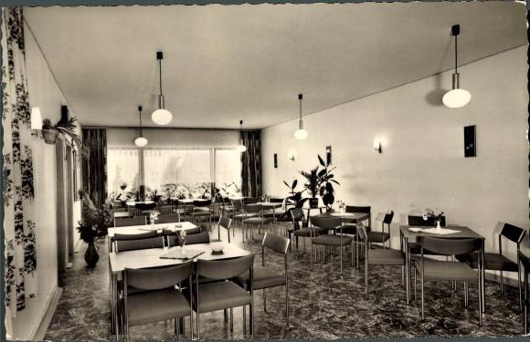 Cafe und Bäckerei Blasius, Birresborn, 1967