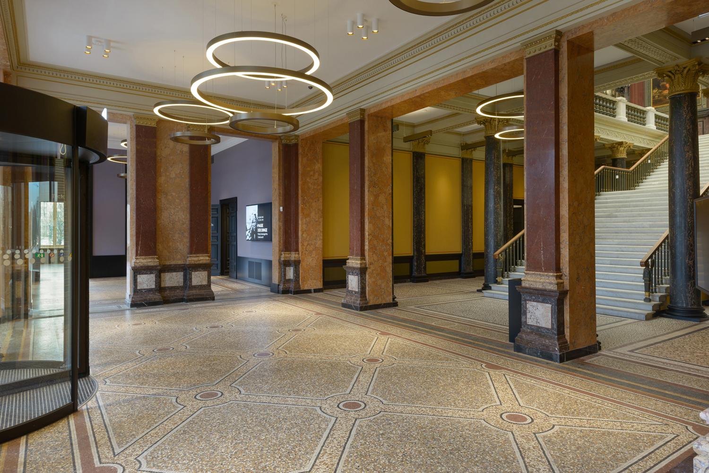© Hamburger Kunsthalle, Das neue Foyer, Foto Kay Riechers