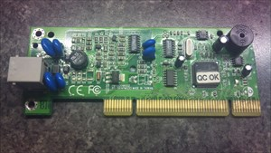 My old modem card - Meine alte Modemkarte