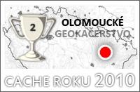 Keš roku 2010 - 2.místo