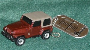 Badlands Posse 4X4 Club's Red Jeep
