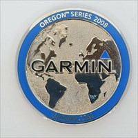 Garmin Oregon Series Geocoin front