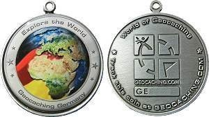 Germany GeoCoin EXPLORE THE WORLD