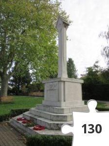 Jigsaw puzzle - Tenterden War Memorial