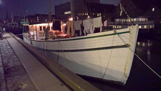 Båd i Christianshavns Kanal