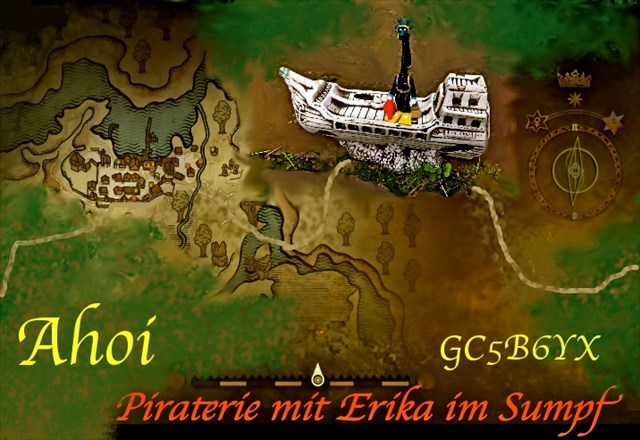Ahoi, Piaterie mit Erika im Sumpf