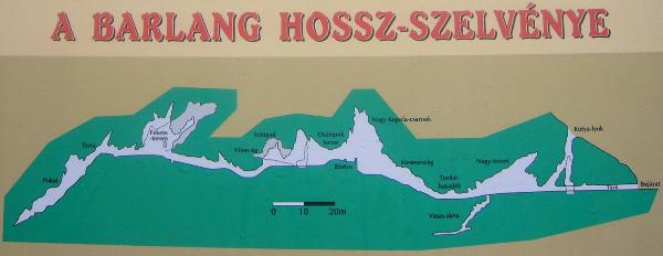 Saint Istvan Cave plan