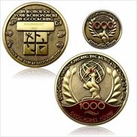 Geo Award Geocoin – 1000 Caches