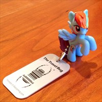Rainbow Dash - GeocachePets.com Travel Bug