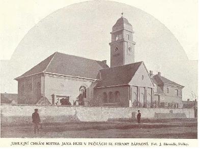 Starý pohled s kostelem