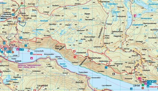 lårdalstigen kart GC29MR6 Gjøstøylnuten (Traditional Cache) in Telemark, Norway  lårdalstigen kart
