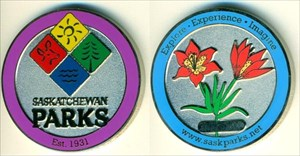 Saskatchewan Parks Geocoin