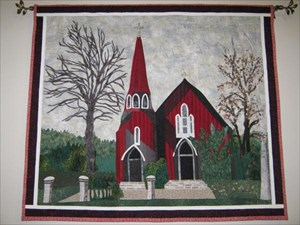 Red Church another Blue Ribbon