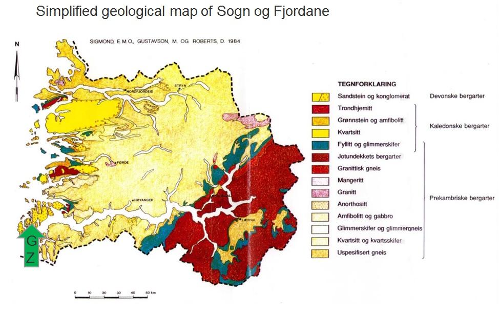 Gc6g1e1 Devonian Conglomerates Earthcache In Sogn Og Fjordane