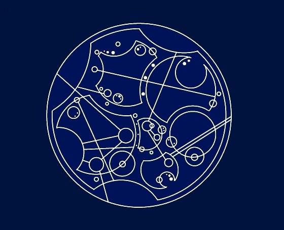 Kann jemand circular gallifreyan bersetzen allgemeines doctor who - Tardis selber bauen ...
