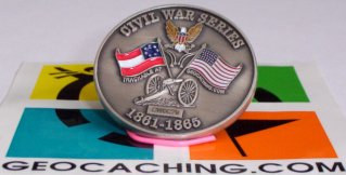 Kosho Civil War Geocoin #2 Manassas