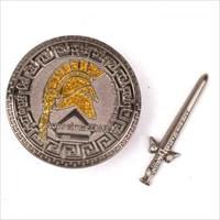 Schwert und Schild Front