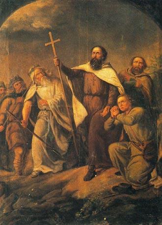 Bruno av Querfurt som misjonær