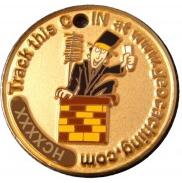 Happy Caching - Chimney Sweeper Geocoin - Simon Druhy # 1