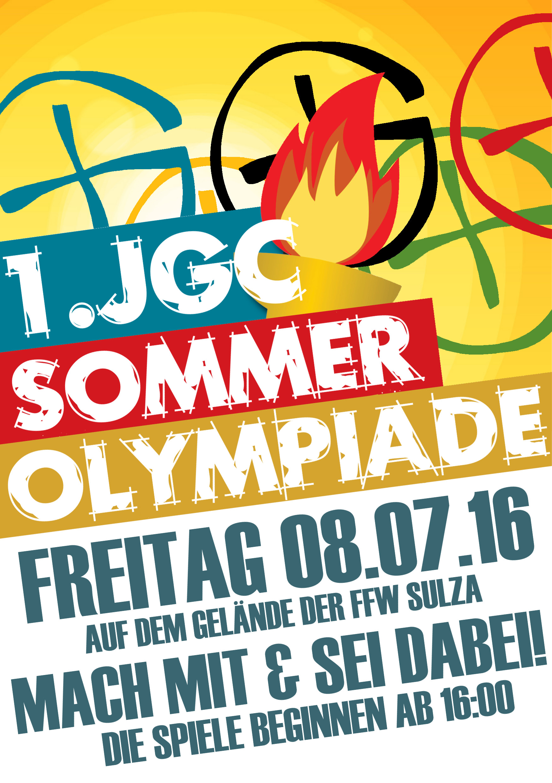 1. JGC Sommer Olympiade 2016