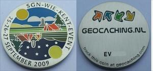 SGN-Wie-Kent-Event Geocoin 2009