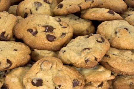chewy chocolate chip cookies let s say 25 cookies giant chocolate chip ...