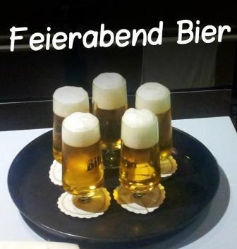 Feierabend-Bierchen