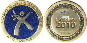 2010 Groundspeak Lackey Geocoin